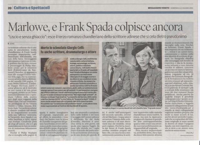 Marlowe e Frank Spada - Messaggero Veneto 12-06-2011.jpg